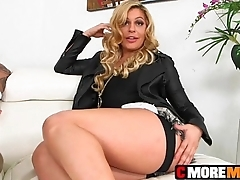 Badass MILF Cec does what she does best working hard cock