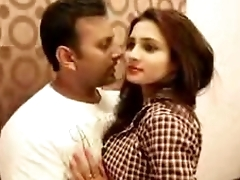 One Black-hearted Stand Desi girl kissing