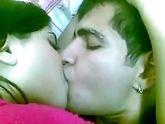 Pakistani girl kissing her bf in hotel