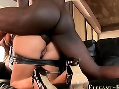 Glamour maid banged bbc