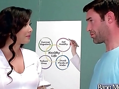 Hot Kinky Patient (Karlee Grey) Seduced By Doctor Cognizant Sexual connection Treatment clip-21