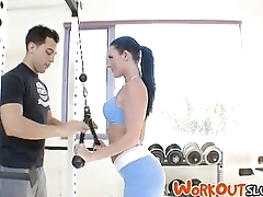 When The Cats Away - Workout Fucking With Sophie Dee