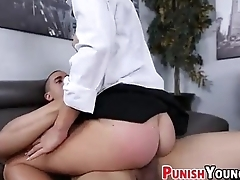 Testing Out The New Secretary - Roughsex With Dakota Vixin