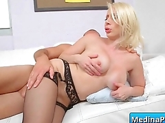 Big tits slut gets banged hard by her boss between her big boobs 22