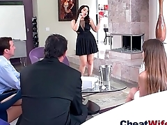 Superb Wife (valentina nappi) In hard Style Sexual congress Cheating Story clip-28