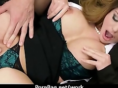 Busty Babe Fucking Her Boss In The Office 19