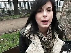 Teen Euro Slut Suck Dick In Public For Money 03