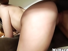Smalltitted bikini babe pussydrilled with BBC