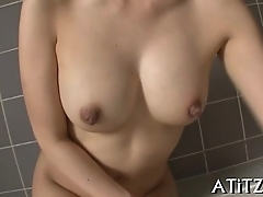 Big boobs japanese'_s wild oral-stimulation
