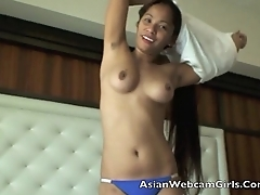 AsianCamsLive.com sexy nude filipina pinay webcam model upskirt voyeur sex show