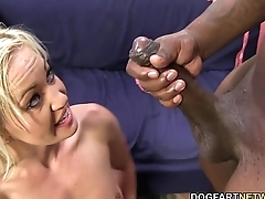 Whitney Grace Takes Black Cock In Her Ass