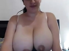 Huge Latina Peekaboo Knockers See more at CAMGLAMER.COM