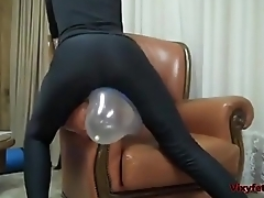 Balloon Fetish Rubbing &amp_ Rubbing away - Vixyfetish.com