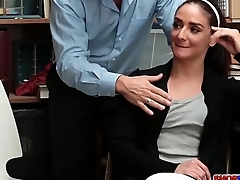 Peyton and Sienna fucks a pervert detective
