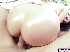 Oiled Big Ass Girl (allie haze) Take It Deep In Her Behind On Camera clip-04