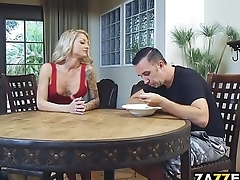 Synthia is one horny sister-in-law who needs some cock stat