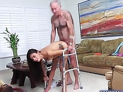 Hot babe Jealena Marie bangs with a sugar daddy