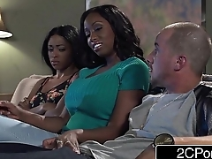 Big Tit Ebony MILF Codi Bryant Attempts To Steal Young Anya Ivy'_s Boyfriend