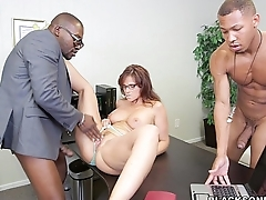 White MILF is a Black Cock addict