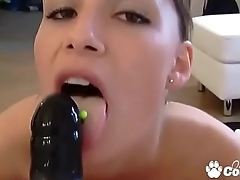 Sindy Black Gives It To Her Girlfriend With A Strap-On