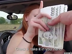 Public Blowjob For Cash With Nasty Teen Czech Girl 23