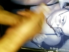 Esadora'_s curvy ass &amp_ nerdy hot face got jizzed with loads of hot sperm