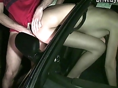Extreme PUBLIC sexual relations gangbang with hot Kitty Jane