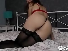 From Amateur Margo Shows You Her Flat Ass On Webcam