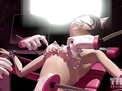 3D Anime Girl Armpit Nipple Navel Feet Vagina Tickled - TIED.TK