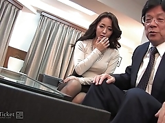 41Ticket - Japanese Mature Caught Fucking Stepbrother (Uncensored JAV)
