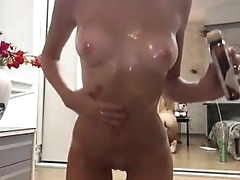 Stunning blonde strip and oil her body on cam - FREE webcam at HOTTESTWEBCAMS.TK