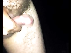 Wanking outdoors plus shooting my load