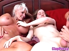 seduce my grandma and mom to fuck