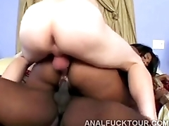 Sydney Capri big ass double penetration