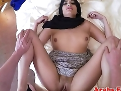 Muslim woman pussydrilled greater than camera for cash