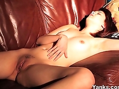 Teen Lily Masturbating Her Pussy