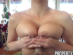 PropertySex - Real estate medium sends home buyer escort as gift